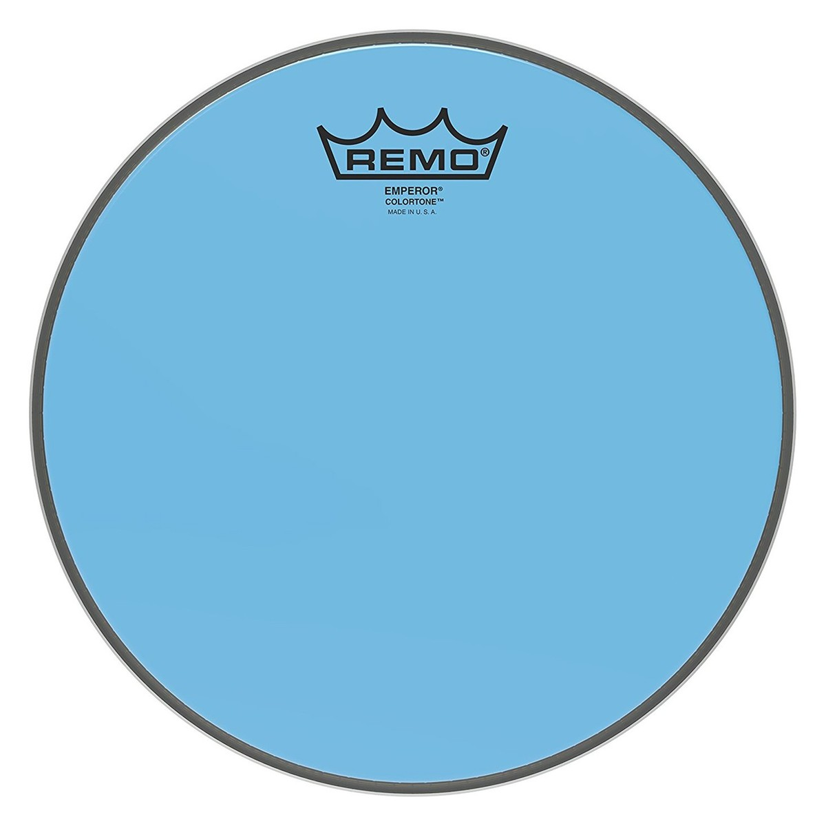 Click to view product details and reviews for Remo Emperor Colortone Blue 10 Drum Head.