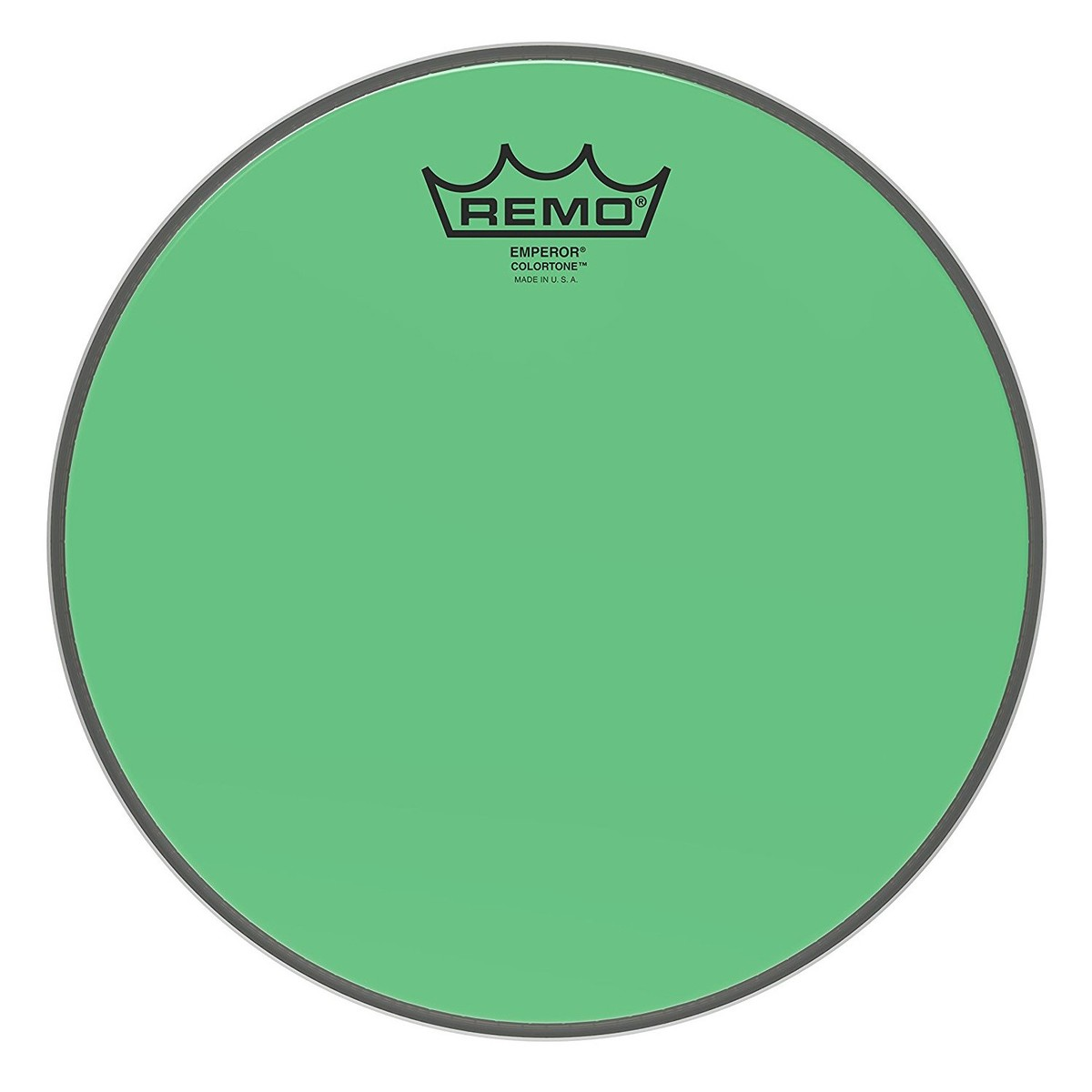 Click to view product details and reviews for Remo Emperor Colortone Green 10 Drum Head.
