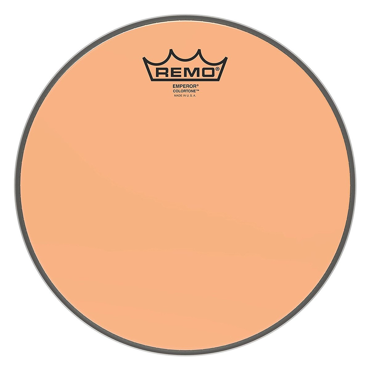 Click to view product details and reviews for Remo Emperor Colortone Orange 10 Drum Head.