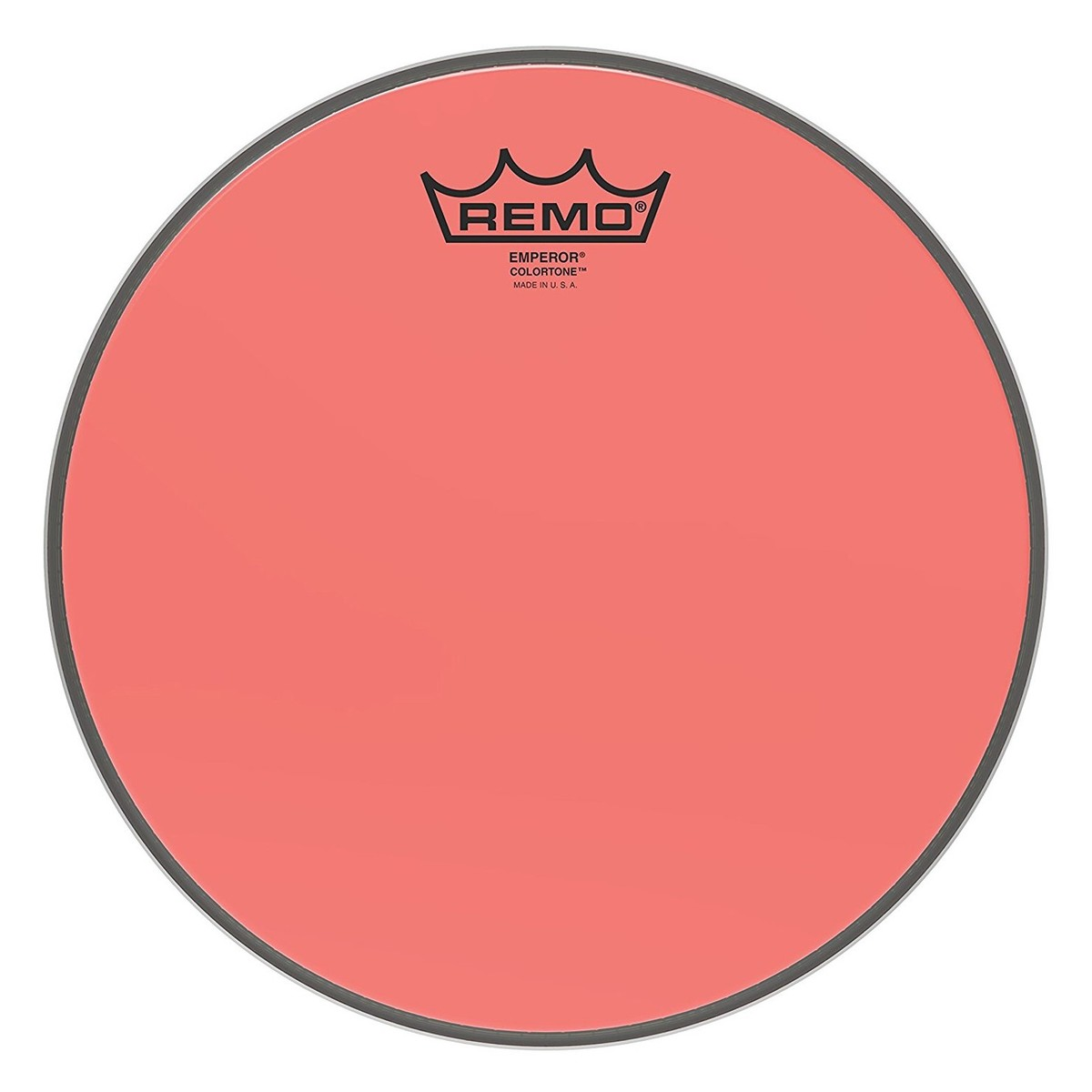 Click to view product details and reviews for Remo Emperor Colortone Red 10 Drum Head.