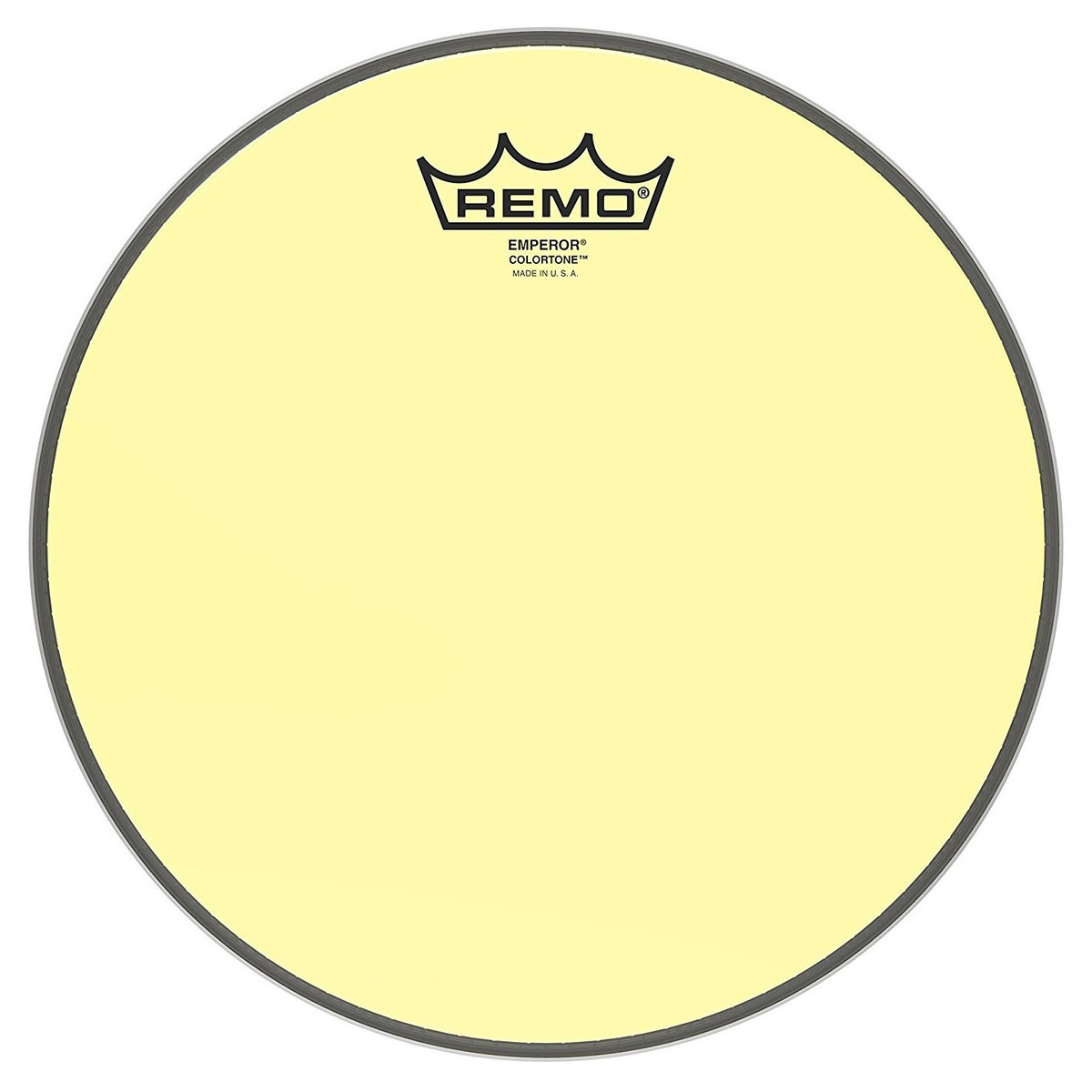 Click to view product details and reviews for Remo Emperor Colortone Yellow 10 Drum Head.