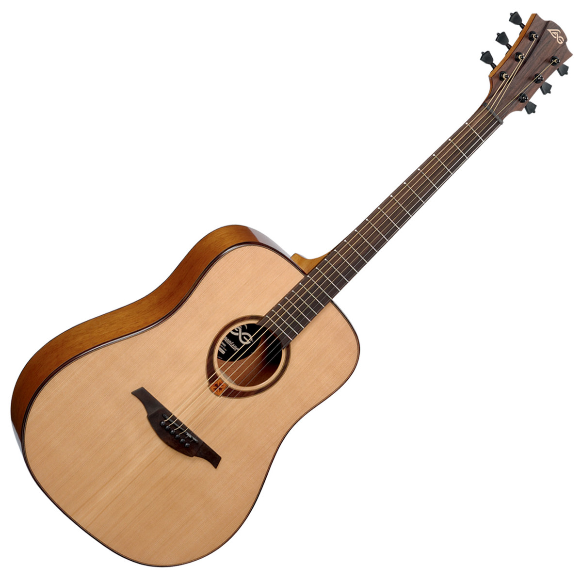 Lag Acoustic Guitar : lag t200d dreadnought acoustic guitar natural b stock at gear4music ~ Vivirlamusica.com Haus und Dekorationen