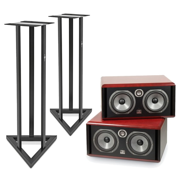 Focal Twin 6 BE Active Monitors with Stands (Pair) - Main