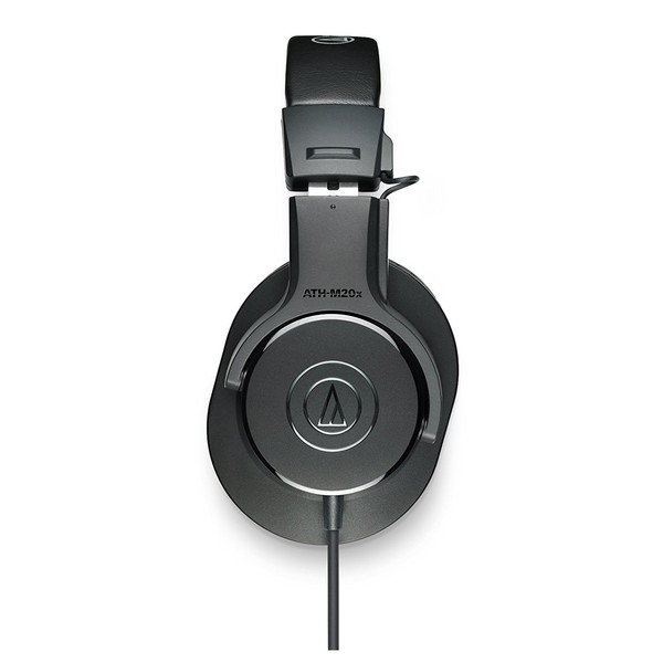 Audio Technica ATH-M20x Professional Monitor Headphones, Side