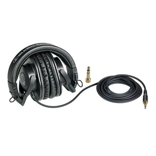 Audio Technica ATH-M30x Professional Monitor Headphones with Cable
