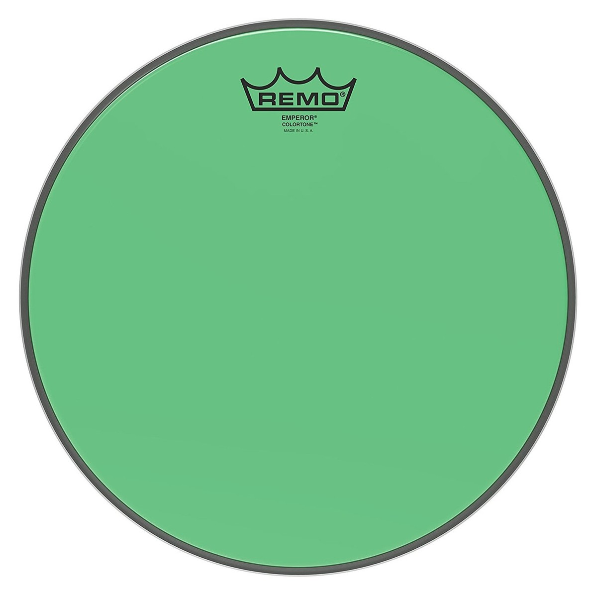 Click to view product details and reviews for Remo Emperor Colortone Green 12 Drum Head.