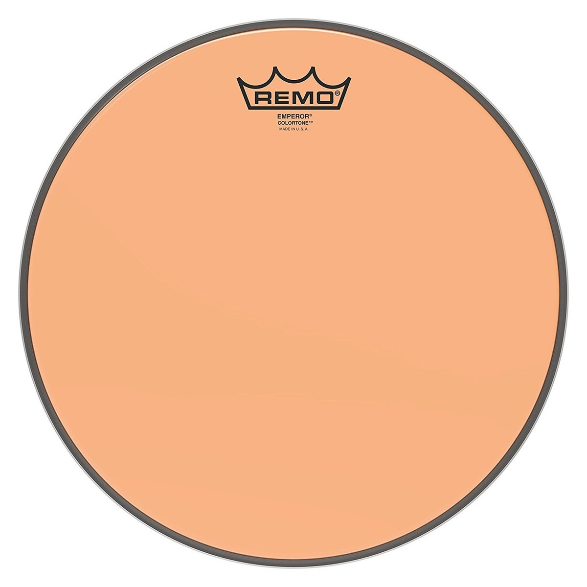 Click to view product details and reviews for Remo Emperor Colortone Orange 12 Drum Head.