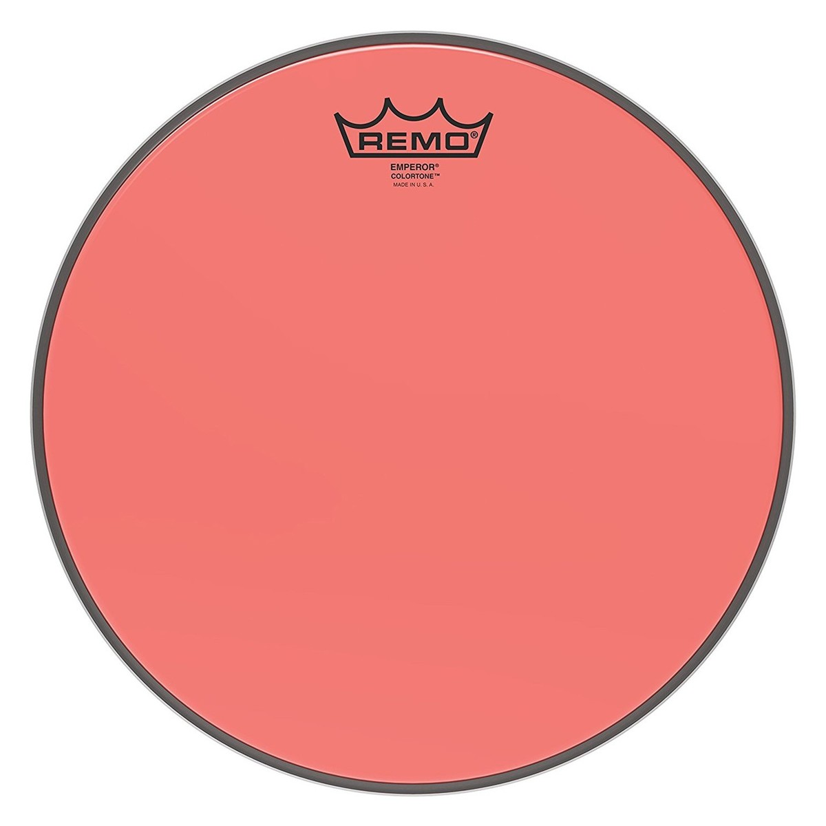 Click to view product details and reviews for Remo Emperor Colortone Red 12 Drum Head.