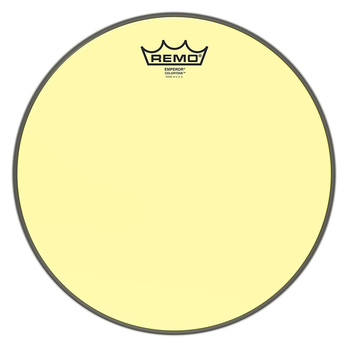 Click to view product details and reviews for Remo Emperor Colortone Yellow 12 Drum Head.