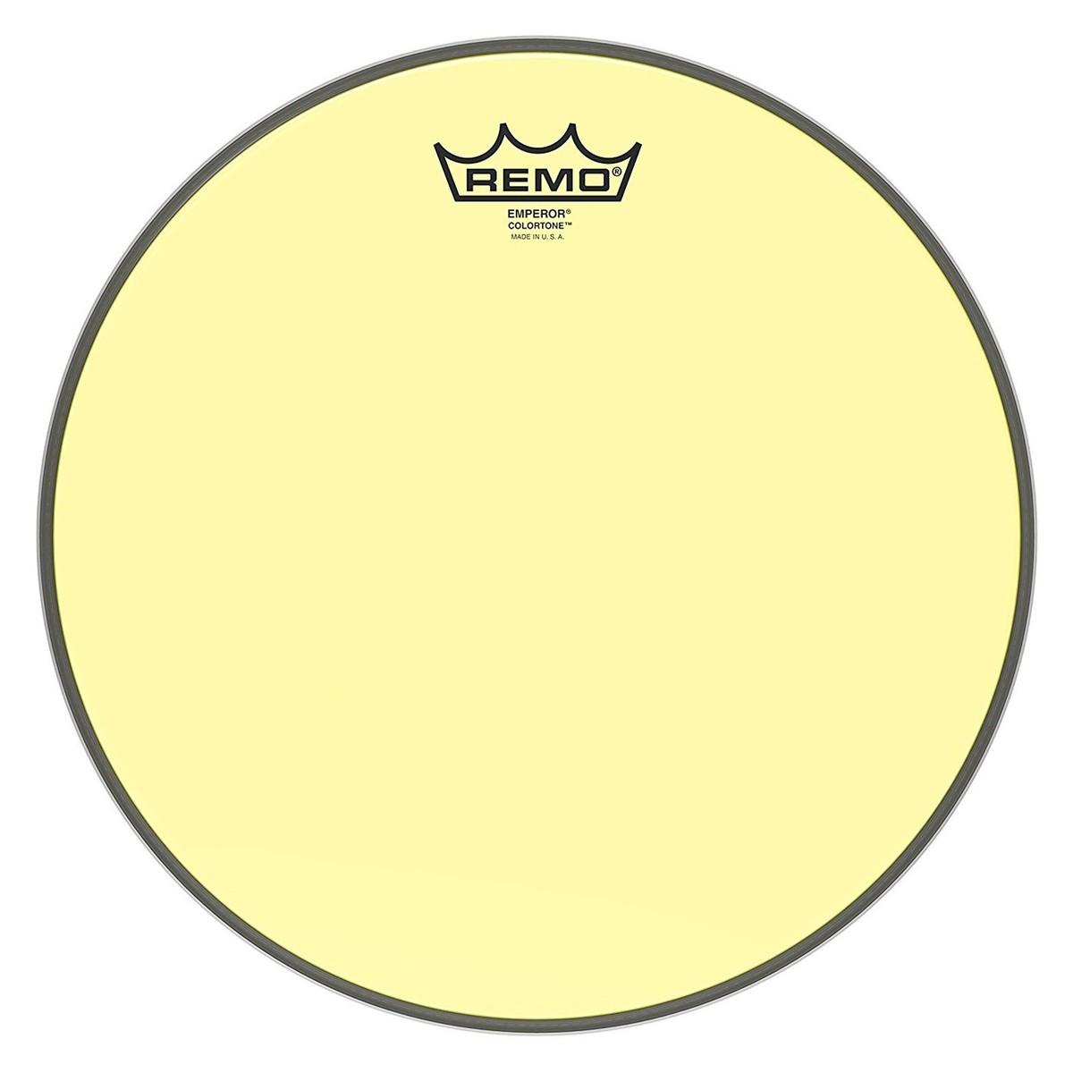 Remo Emperor Colortone Yellow 12 Drum Head