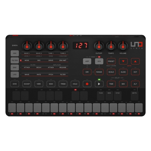 IK Multimedia UNO Synth - Top