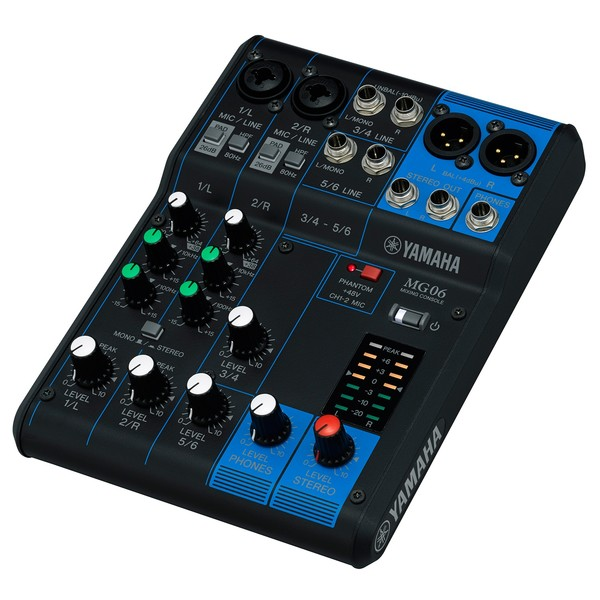 Yamaha MG06 Analog Mixing Console