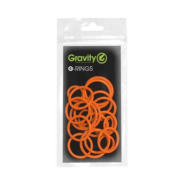 Gravity Universal G-Ring Pack, Electric Orange Pack