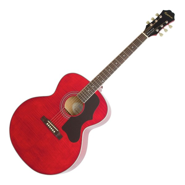 Epiphone EJ-200 Artist Acoustic, Wine Red
