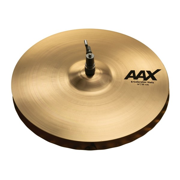 Sabian AAX 14'' X-Celerator Hi-Hat Cymbals, Brilliant Finish - Main