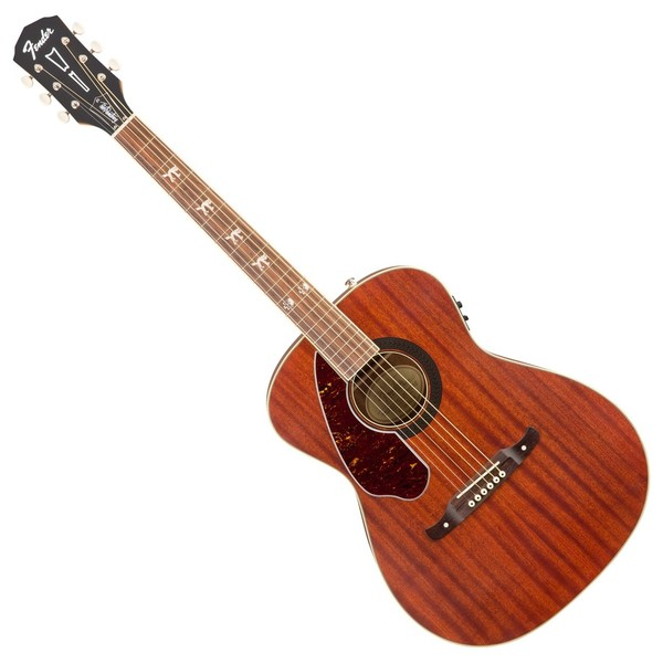 Fender Tim Armstrong Hellcat Electro Acoustic Left Handed, Mahogany