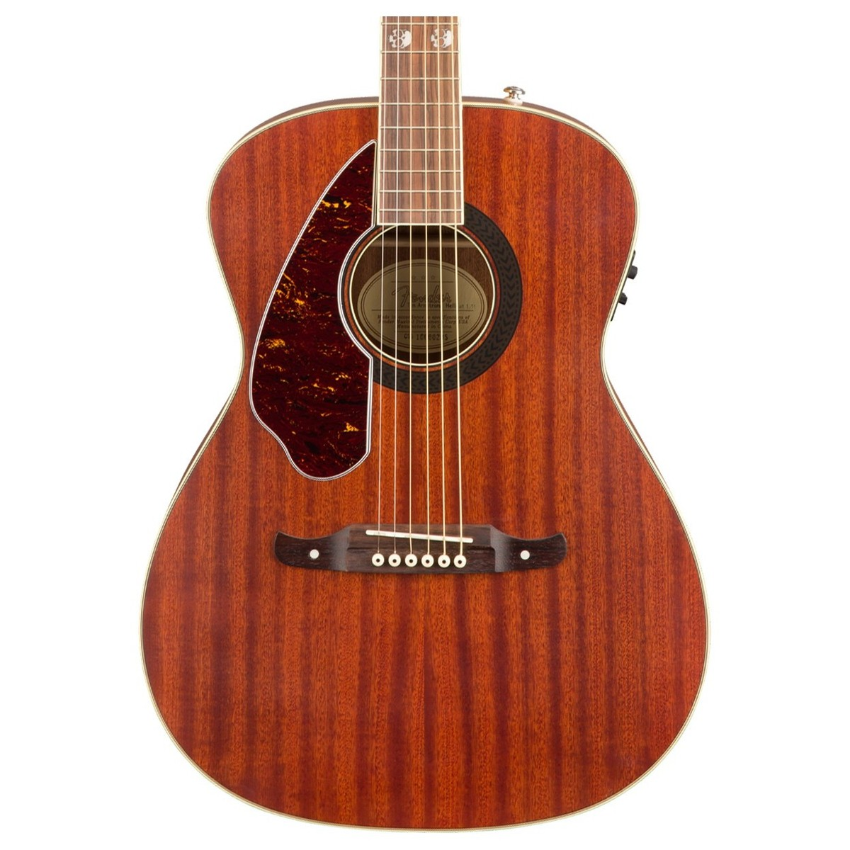 fender tim armstrong hellcat electro acoustic left handed mahogany at gear4music. Black Bedroom Furniture Sets. Home Design Ideas