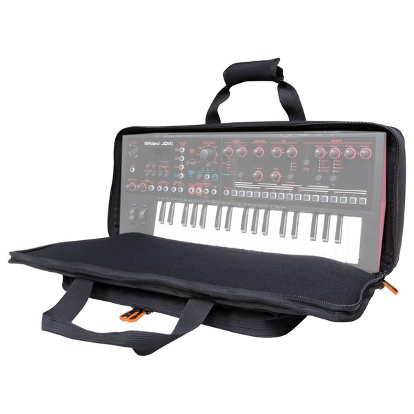 Roland JD-Xi Bag - Angled Open 2 (Synth Not Included)