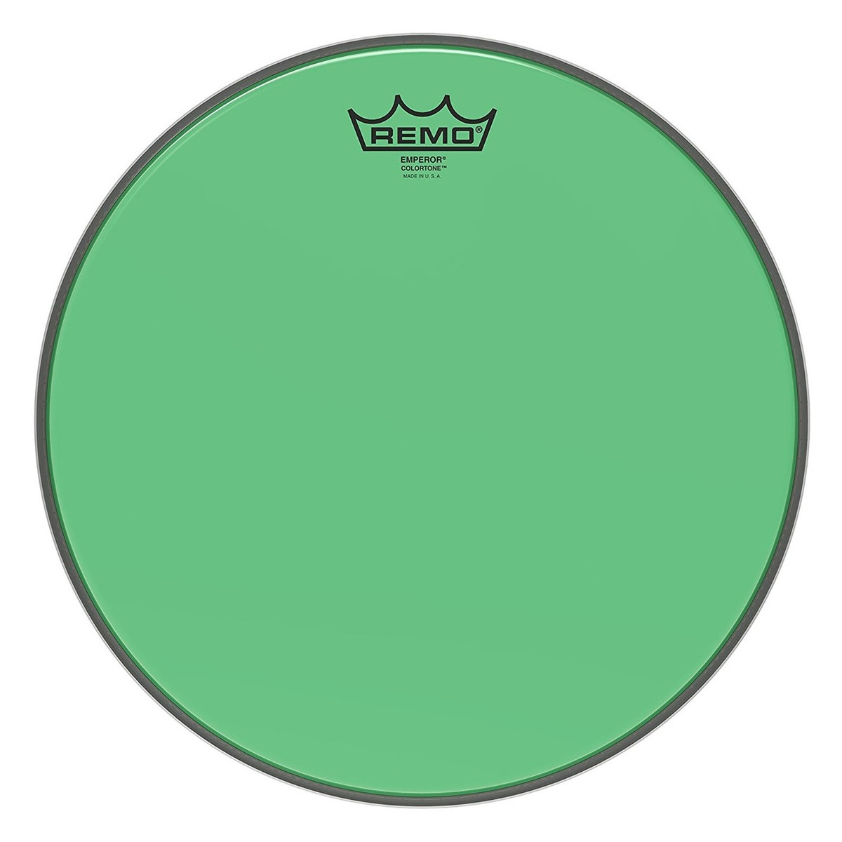 Click to view product details and reviews for Remo Emperor Colortone Green 13 Drum Head.