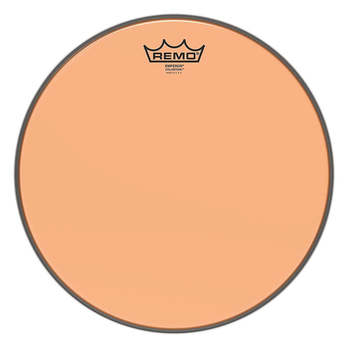 Remo Emperor Colortone Orange 13 Drum Head