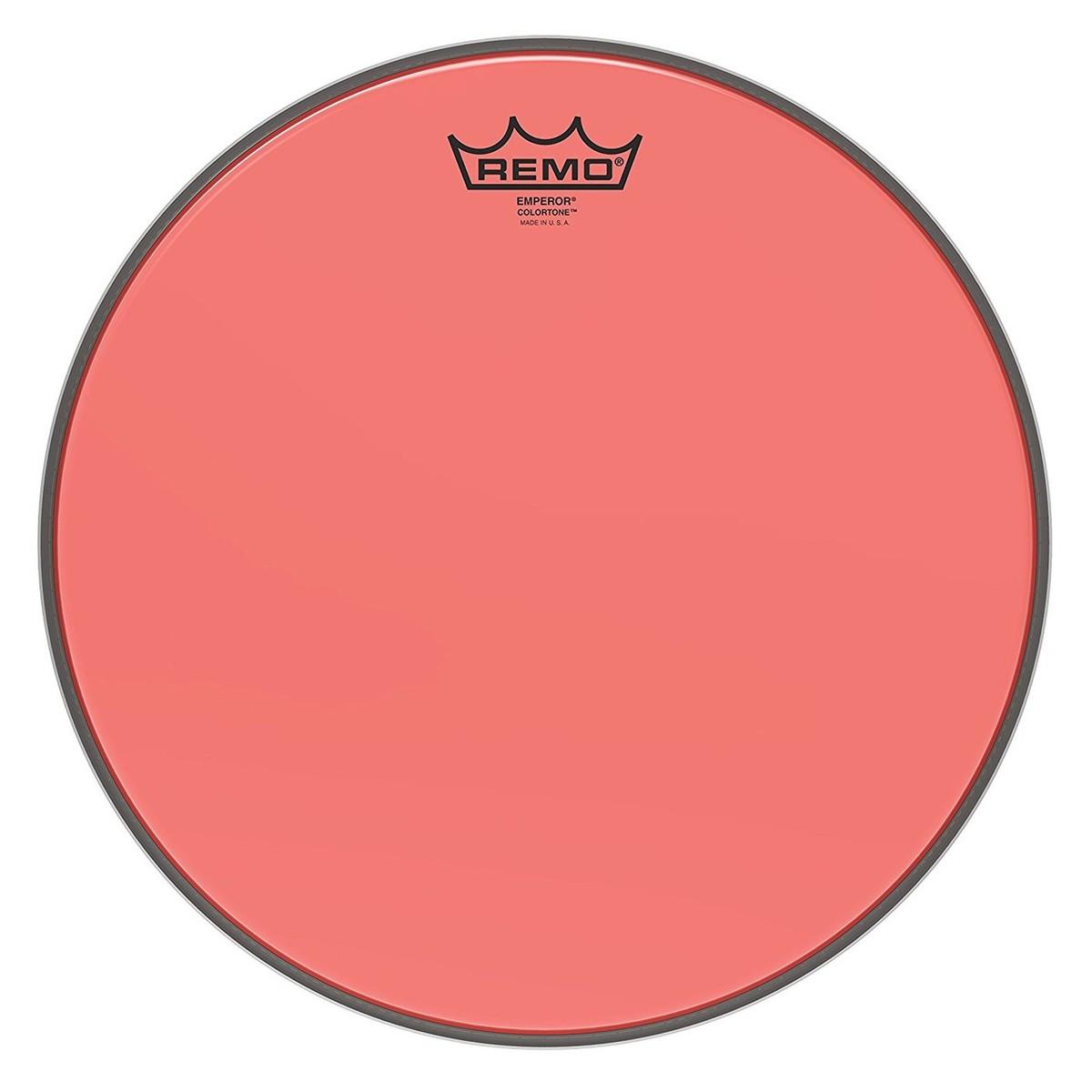 Remo Emperor Colortone Red 13 Drum Head