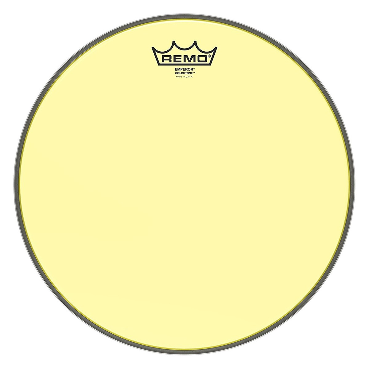 Click to view product details and reviews for Remo Emperor Colortone Yellow 13 Drum Head.