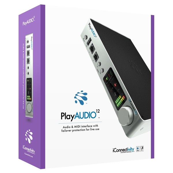 iConnectivity PlayAUDIO12 Audio Interface - Boxed
