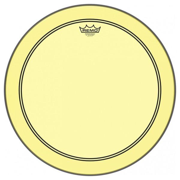 Remo Powerstroke 3 Colortone Yellow 22'' Bass Drum Head