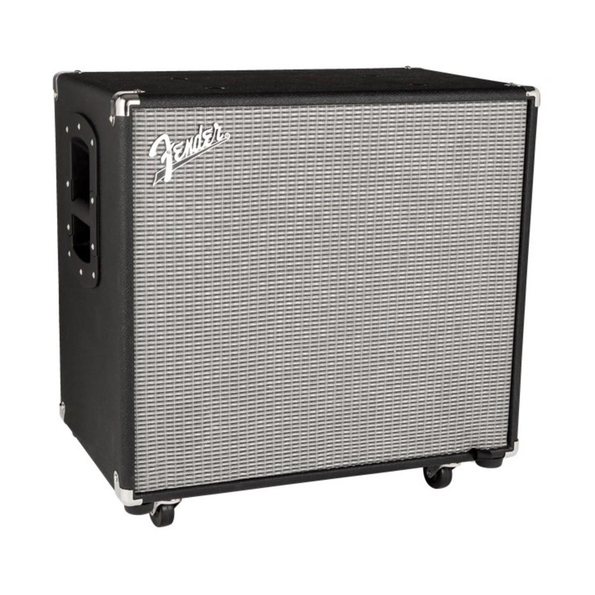 fender rumble 115 bass cabinet black silver at gear4music. Black Bedroom Furniture Sets. Home Design Ideas