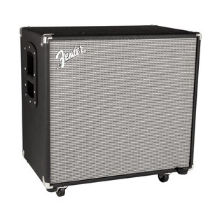 Fender Rumble 115 Bass Cabinet, Black/Silver