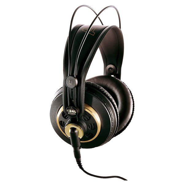 AKG K240 Studio Semi-Open Headphones - Angled (Main)