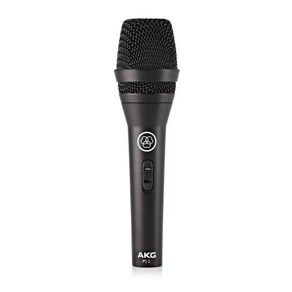 AKG P5 S Dynamic Vocal Microphone With ON/OFF Switch - Front