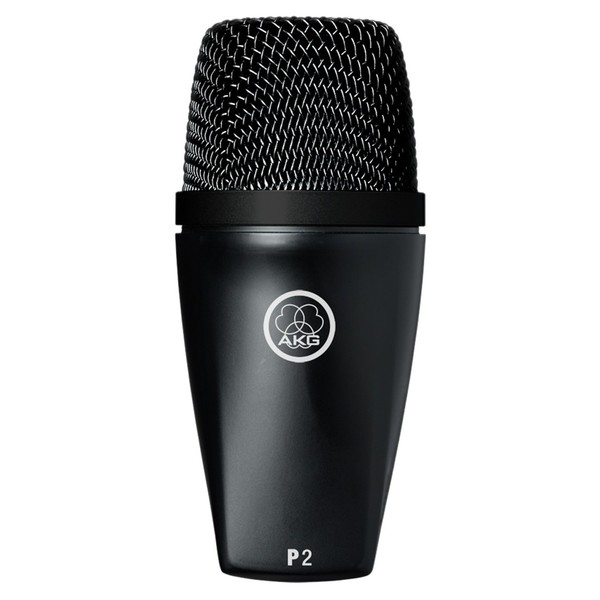 AKG P2 Dynamic Microphone for Bass Instruments - Front