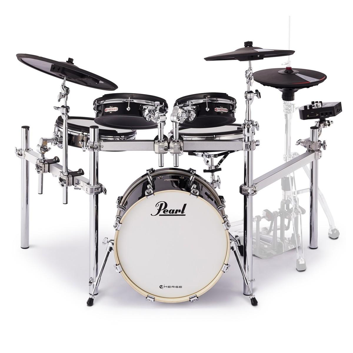 Pearl E Merge Hybrid Electronic Drum Kit Powered By Korg