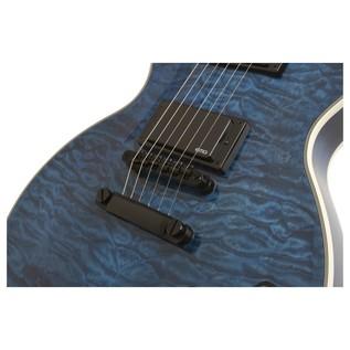 Epiphone Prophecy Les Paul Custom Plus EX w/ EMG's, Midnight Sapphire Middle