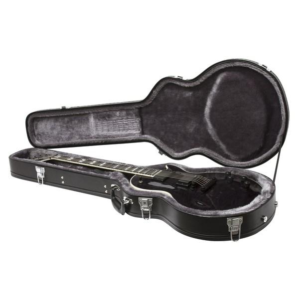 Epiphone Prophecy Les Paul Custom Plus EX w/ EMG's, Midnight Ebony In Case