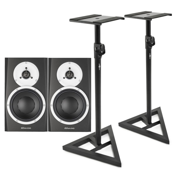 Dynaudio BM5 MKIII Near-Field Monitor, Pair, With Stands - Bundle