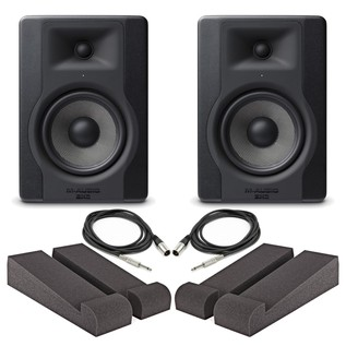 M-Audio BX5-D3 Pair with Iso Pads & Cables - Main