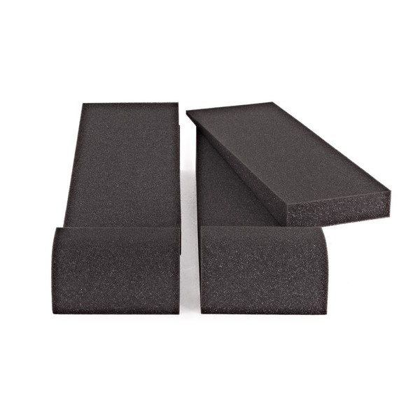 AcouFoam Universal Studio Monitor Isolation Pads by Gear4music - Front