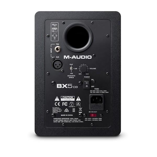 M-Audio BX5-D3 Studio Monitor - Back