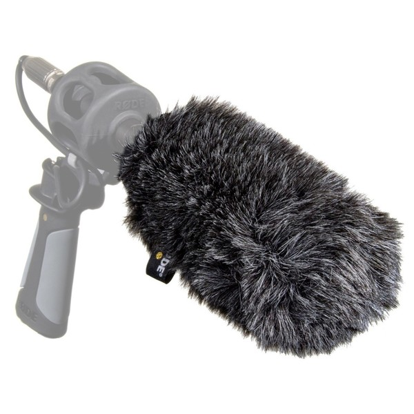 WS6 Deluxe Windshield / Pop Filter - On Microphone (Mic Not Included)