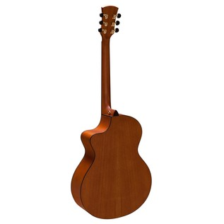 Faith Neptune Baby Jumbo Cutaway Electro Acoustic Back View