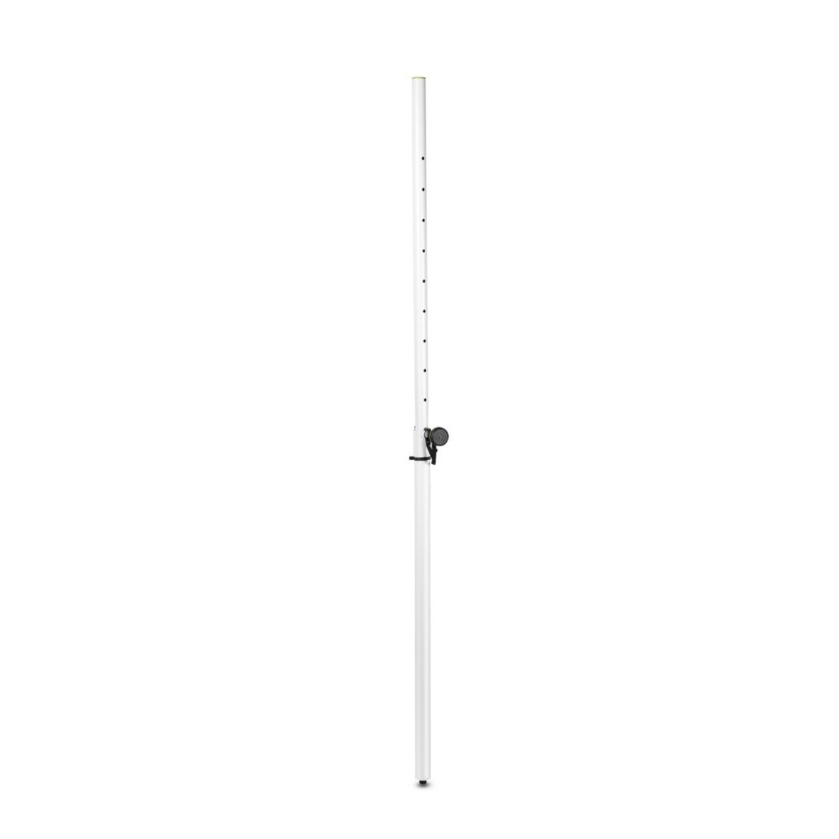 Light Pole Collapse: Gravity SP2342W Adjustable Speaker Pole, White At Gear4music