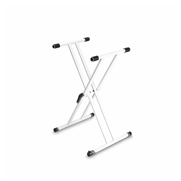Gravity KSX2 Double X-Form Keyboard Stand, White