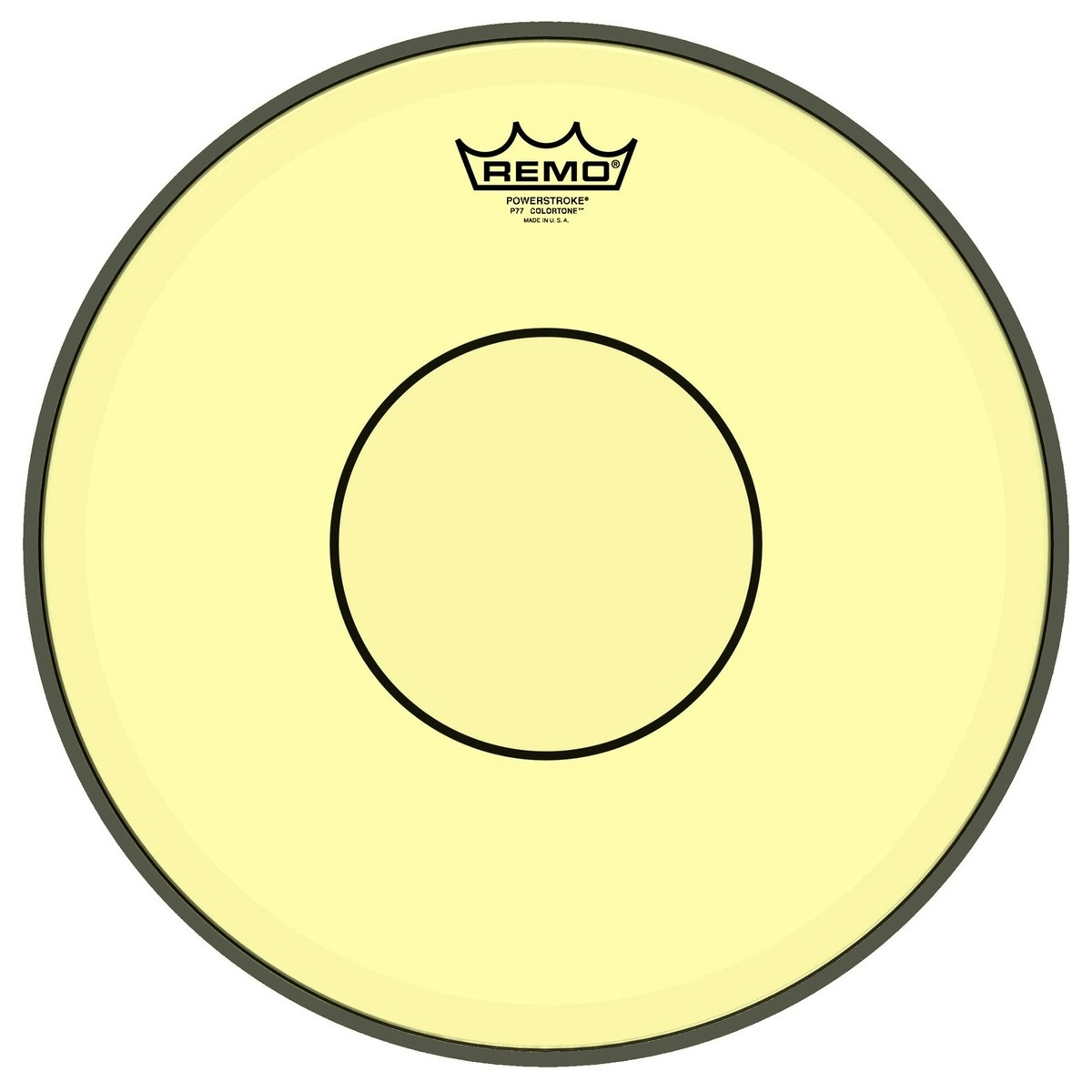 Yellow Drum Heads : remo powerstroke 77 colortone 14 39 39 yellow drum head at gear4music ~ Russianpoet.info Haus und Dekorationen