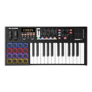 M-Audio Code 25 Controller Keyboard, Black - Top
