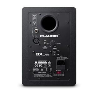 M-Audio BX5-D3 - Rear
