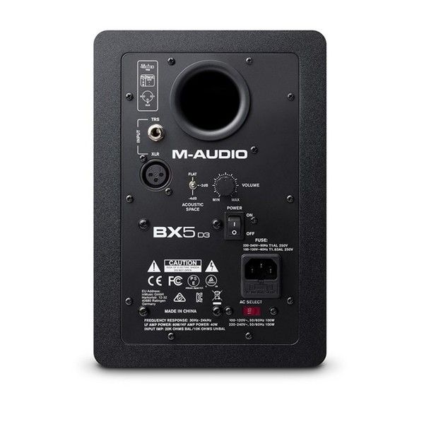 M-Audio BX5-D3 - Rear