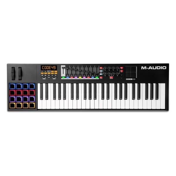 M-Audio Code 49, Black - Top