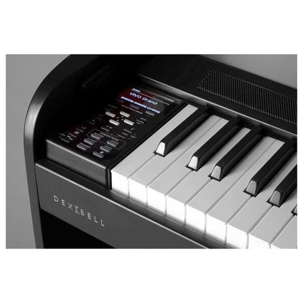 Dexibell Vivo H1 Digital Piano, keys close up
